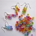 Boucles d'oreilles perles rondes