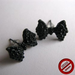 "Boucles d'oreilles ""noeud pap"" (Attention produit non artisanal)"