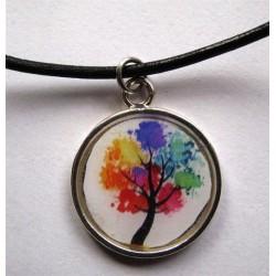 parure arbre coloré