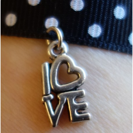 "Breloque ""love"""