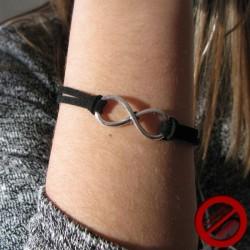 """Bracelet """"grosse maille coeur """" (Attention produit non artisanal)"""