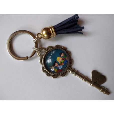 porte clés clé thank you